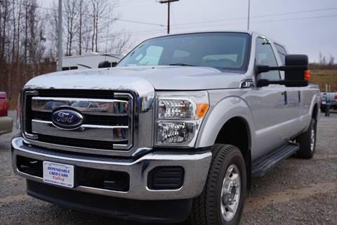 2012 Ford F-350 Super Duty for sale at Dependable Used Cars Valley in Wasilla AK