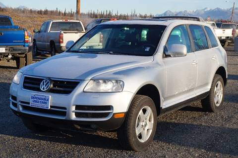 2004 Volkswagen Touareg for sale at Dependable Used Cars Valley in Wasilla AK