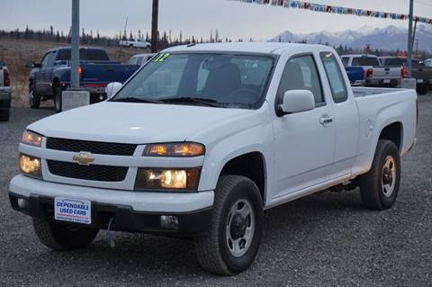2012 Chevrolet Colorado for sale at Dependable Used Cars Valley in Wasilla AK