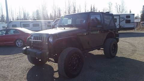 2012 Jeep Wrangler for sale at Dependable Used Cars Valley in Wasilla AK