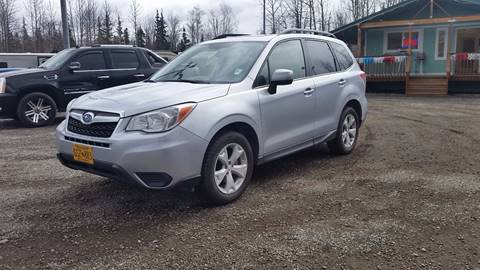 2014 Subaru Forester for sale at Dependable Used Cars Valley in Wasilla AK