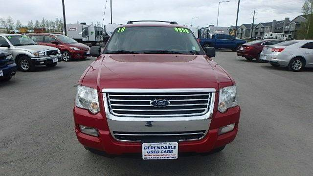 2010 Ford Explorer for sale at Dependable Used Cars in Anchorage AK