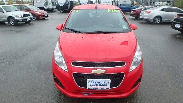2014 Chevrolet Spark for sale at Dependable Used Cars in Anchorage AK