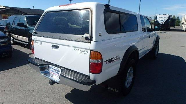 2004 Toyota Tacoma for sale at Dependable Used Cars in Anchorage AK