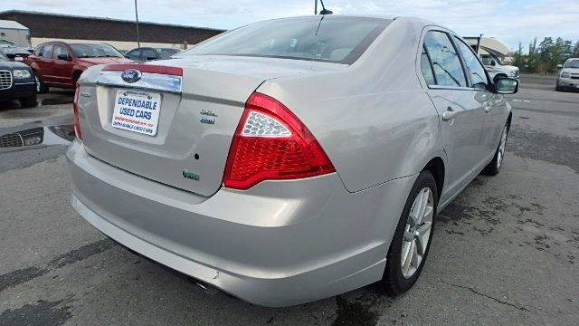 2010 Ford Fusion for sale at Dependable Used Cars in Anchorage AK
