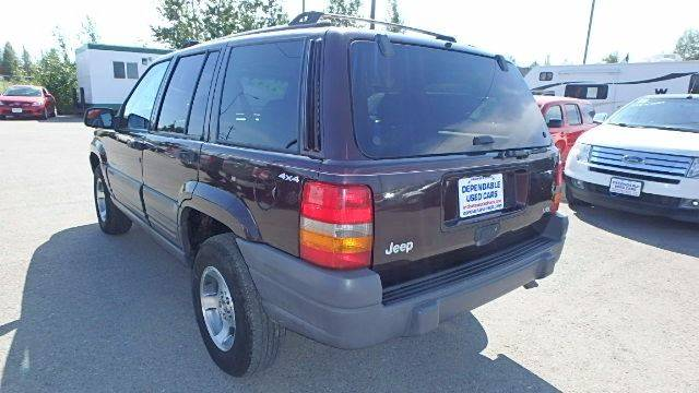 1998 Jeep Grand Cherokee for sale at Dependable Used Cars in Anchorage AK
