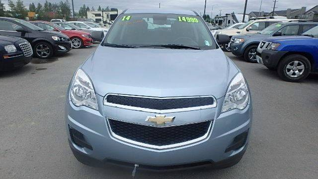 2014 Chevrolet Equinox for sale at Dependable Used Cars in Anchorage AK