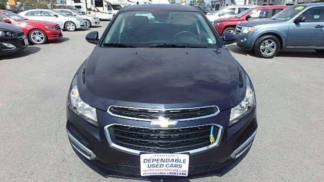 2015 Chevrolet Cruze for sale at Dependable Used Cars in Anchorage AK