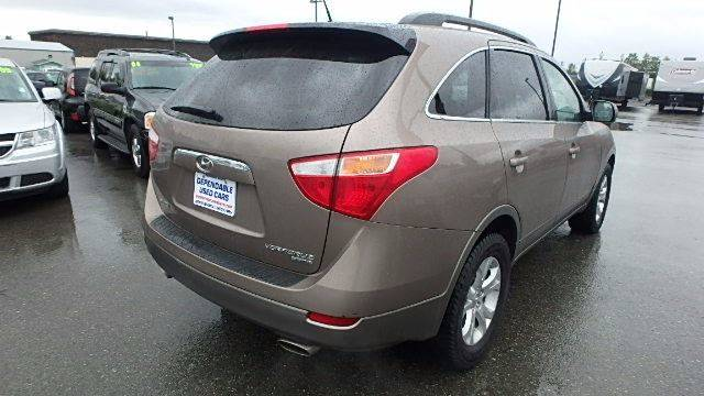 2011 Hyundai Veracruz for sale at Dependable Used Cars in Anchorage AK