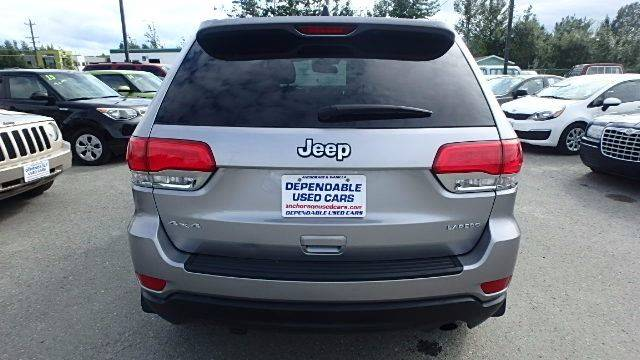 2014 Jeep Grand Cherokee for sale at Dependable Used Cars in Anchorage AK