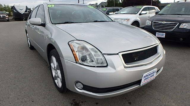 2005 Nissan Maxima for sale at Dependable Used Cars in Anchorage AK