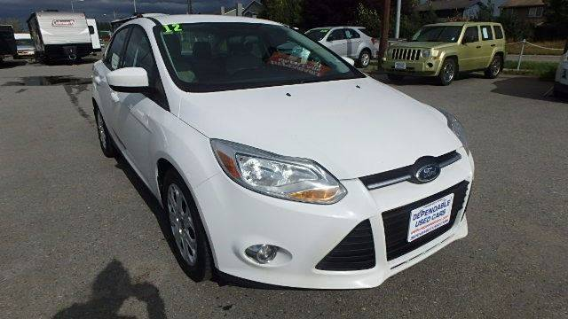 2012 Ford Focus for sale at Dependable Used Cars in Anchorage AK