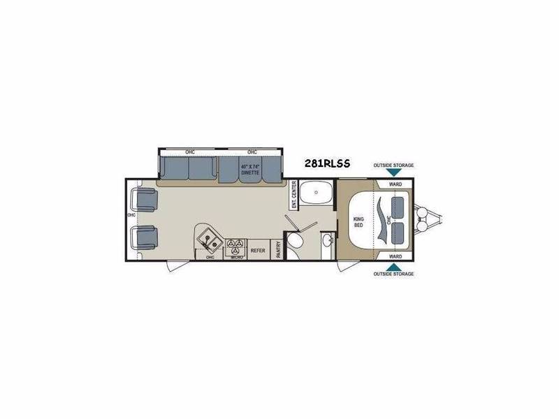 2018 Aerolite 281RLSS for sale at Dependable Used Cars in Anchorage AK