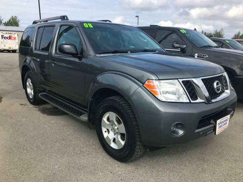 2008 Nissan Pathfinder SE In Anchorage AK - Dependable Used Cars