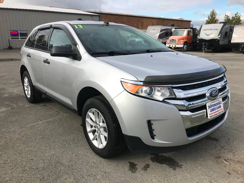 Ford Edge For Sale At Dependable Used Cars In Anchorage Ak