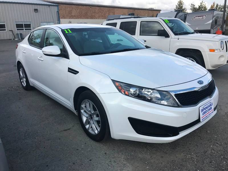2011 Kia Optima For Sale At Dependable Used Cars In Anchorage AK