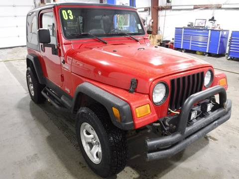 2003 Jeep Wrangler for sale in Anchorage, AK