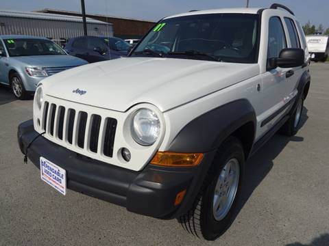 2007 Jeep Liberty for sale at Dependable Used Cars in Anchorage AK