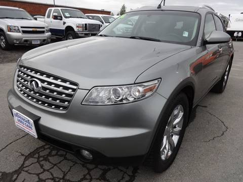 2004 Infiniti FX45 for sale at Dependable Used Cars in Anchorage AK