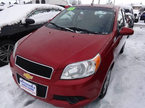 2011 Chevrolet Aveo for sale in Anchorage, AK