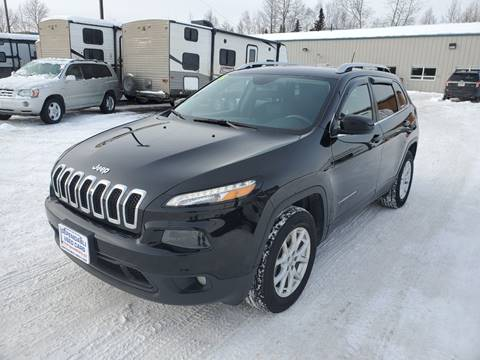 2018 Jeep Cherokee for sale at Dependable Used Cars in Anchorage AK