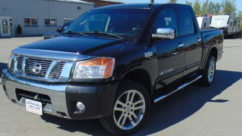 2011 Nissan Titan for sale at Dependable Used Cars in Anchorage AK