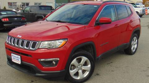 2018 Jeep Compass for sale at Dependable Used Cars in Anchorage AK