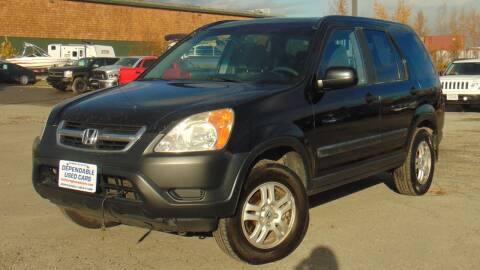 2003 Honda CR-V for sale at Dependable Used Cars in Anchorage AK