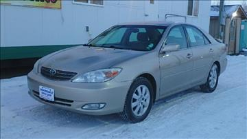 2003 Toyota Camry for sale at Dependable Used Cars in Anchorage AK