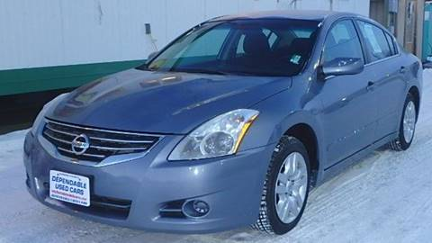 2012 Nissan Altima for sale at Dependable Used Cars in Anchorage AK