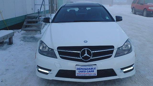 2013 Mercedes-Benz C-Class for sale at Dependable Used Cars in Anchorage AK