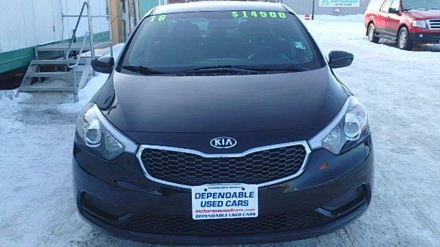 2016 Kia Forte for sale at Dependable Used Cars in Anchorage AK