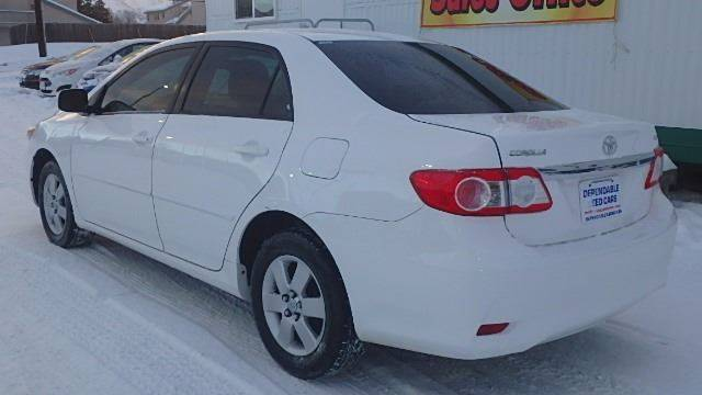 2011 Toyota Corolla for sale at Dependable Used Cars in Anchorage AK