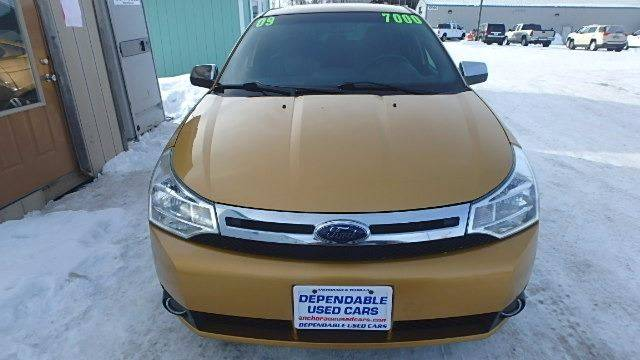 2009 Ford Focus for sale at Dependable Used Cars in Anchorage AK