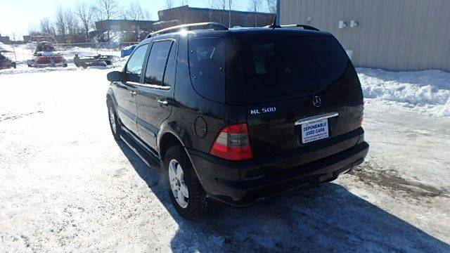 2005 Mercedes-Benz M-Class for sale at Dependable Used Cars in Anchorage AK