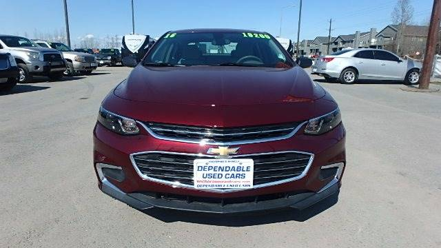 2016 Chevrolet Malibu for sale at Dependable Used Cars in Anchorage AK