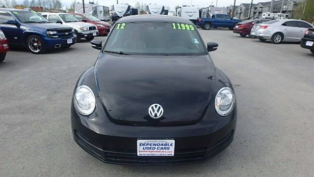 2012 Volkswagen Beetle for sale at Dependable Used Cars in Anchorage AK