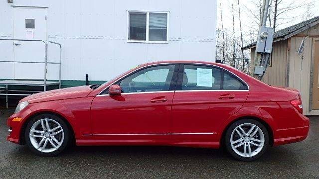 2014 Mercedes-Benz C-Class for sale at Dependable Used Cars in Anchorage AK