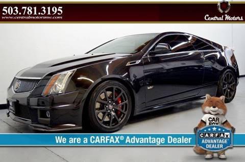 2014 Cadillac CTS-V for sale at Central Motors LLC in Portland OR