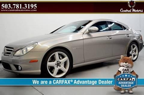 2006 Mercedes-Benz CLS for sale at Central Motors LLC in Portland OR
