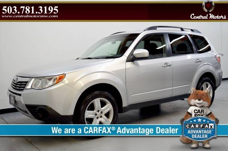 2010 Subaru Forester for sale at Central Motors LLC in Portland OR