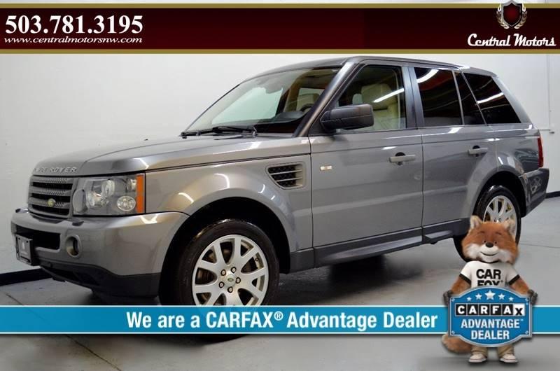 2009 Land Rover Range Rover Sport for sale at Central Motors LLC in Portland OR