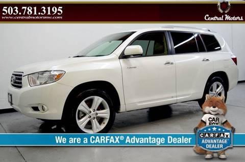 2008 Toyota Highlander for sale at Central Motors LLC in Portland OR