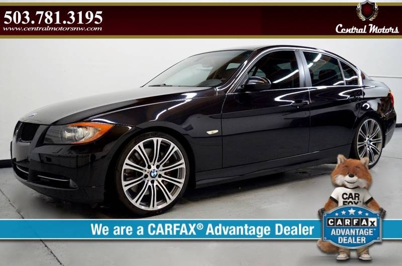 2007 BMW 3 Series for sale at Central Motors LLC in Portland OR