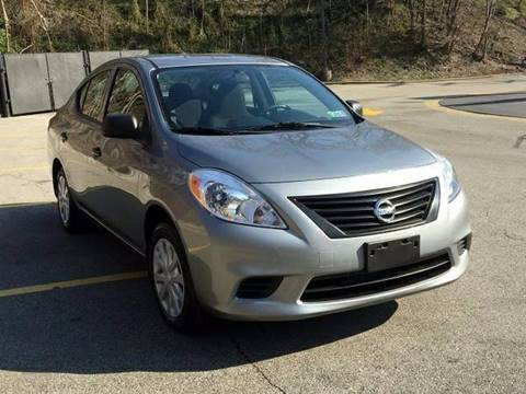 2012 Nissan Versa for sale in Pittsburgh, PA