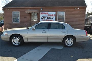 2007 Lincoln Town Car for sale in Kernersville, NC