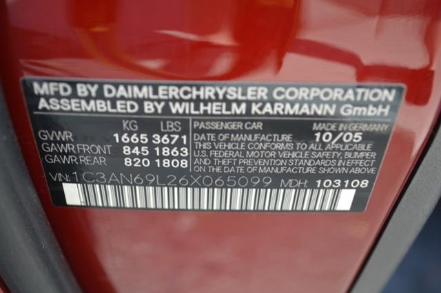 2006 Chrysler Crossfire Limited 2dr Hatchback - Kernersville NC