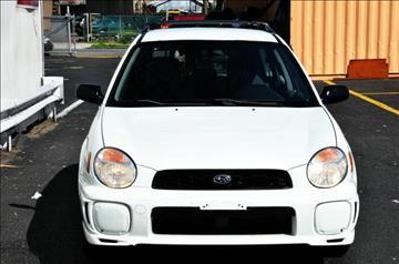 2002 Subaru Impreza for sale in Paterson, NJ