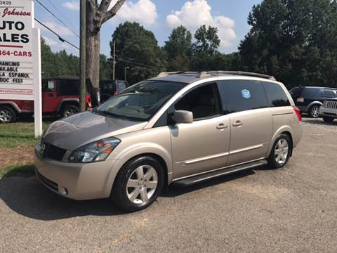 2005 Nissan Quest for sale in Cherryville, NC