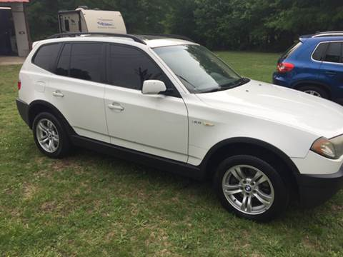 2004 BMW X3 for sale in Cherryville, NC